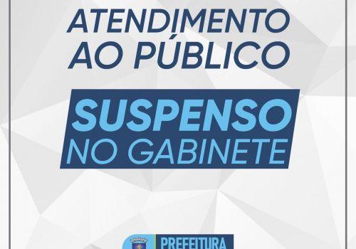 Atendimento ao público segue suspenso na Prefeitura de Ituporanga