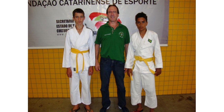Judô de Ituporanga participa dos Jogos da Juventude