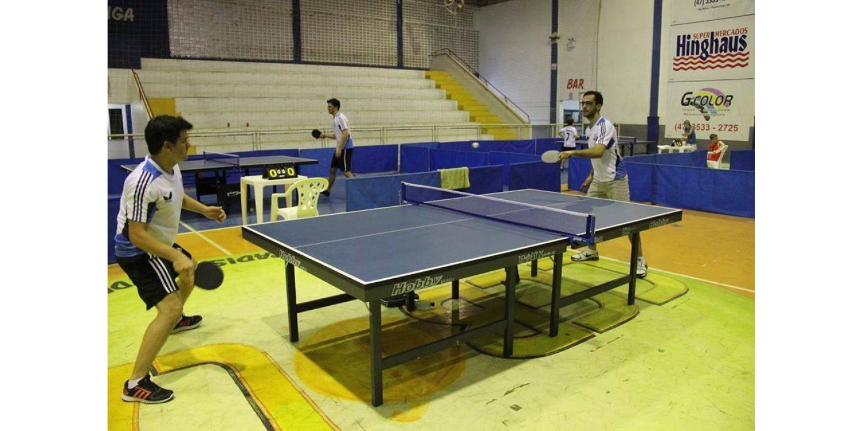 Centenas de atletas participam do Festival e do Torneio Municipal de Tênis de Mesa em Ituporanga