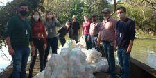 Barreira Ecológica é instalada no Rio Itajaí do Sul em Ituporanga