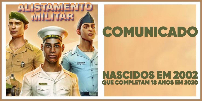 Comunicado Alistamento Militar