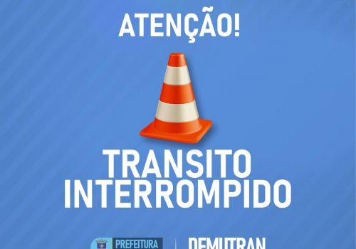 Duas ruas serão interditadas na segunda (05) em Ituporanga para conclusão de obras de pavimentação
