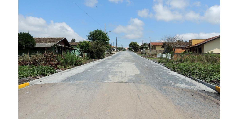 Prefeitura conclui pavimentação de mais uma Rua em Ituporanga