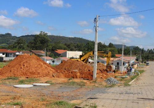 Inicia a construção de seis casas modulares pela Defesa Civil em Ituporanga