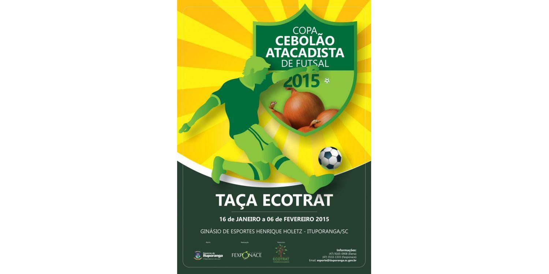 Copa Cebolão Atacadista de Futsal 2015 já tem data definida