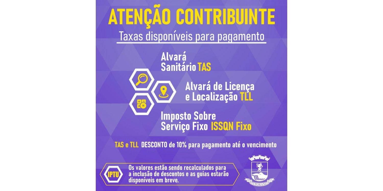 Taxas de Alvarás Sanitário, Licença e Localização estão disponíveis para pagamento em Ituporanga