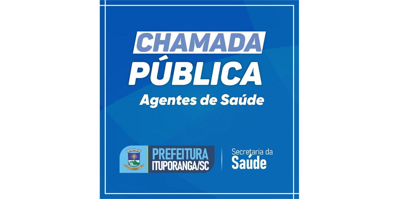 Ituporanga abre Chamada Pública com 20 vagas para agentes de saúde