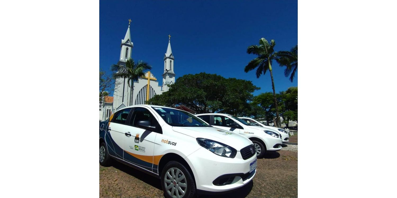 Ituporanga recebe três automóveis do Programa de Mobilidade de Assistência Social