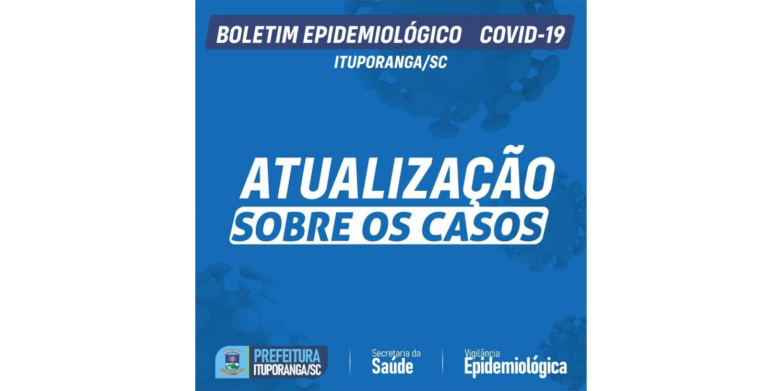 Ituporanga registra mais uma morte  e chega a 39 óbitos por complicações da COVID-19