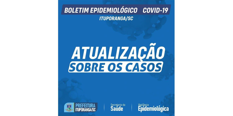 Ituporanga registra mais uma morte  e chega a 60 óbitos por complicações da COVID-19