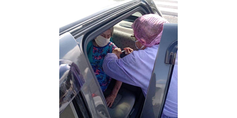 Mais de 350 doses de vacina COVID foram aplicadas neste sábado em Ituporanga