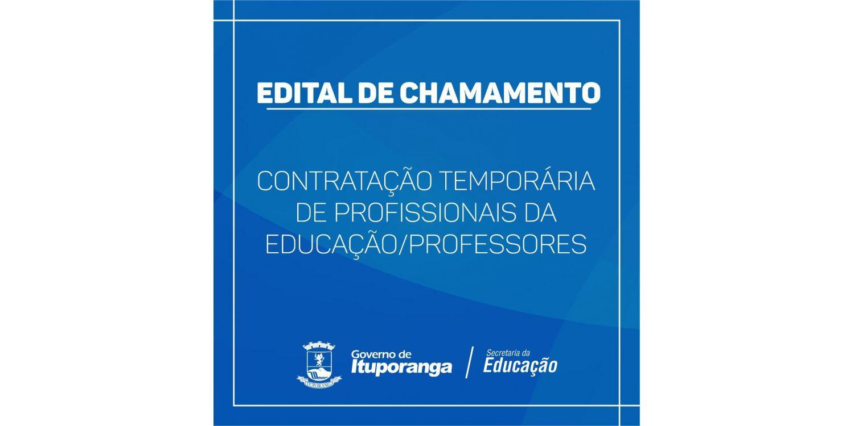 Nesta quarta-feira tem escolha de vagas para professores ACTs em Ituporanga