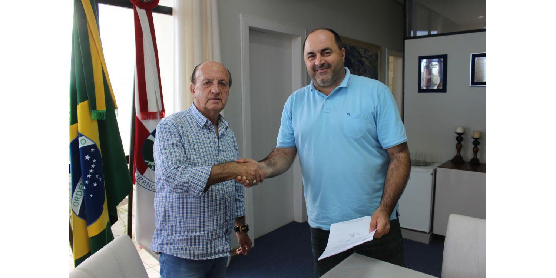 Assinada ordem de serviço para reforma da Ponte do Salto em Ituporanga
