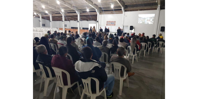 Audiência Pública apresenta projeto de pavimentação da Rua Hugo Haverroth em Ituporanga