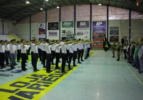 Prefeito  de Ituporanga participa de evento de entrega de Certificados de Dispensa de Incorporação