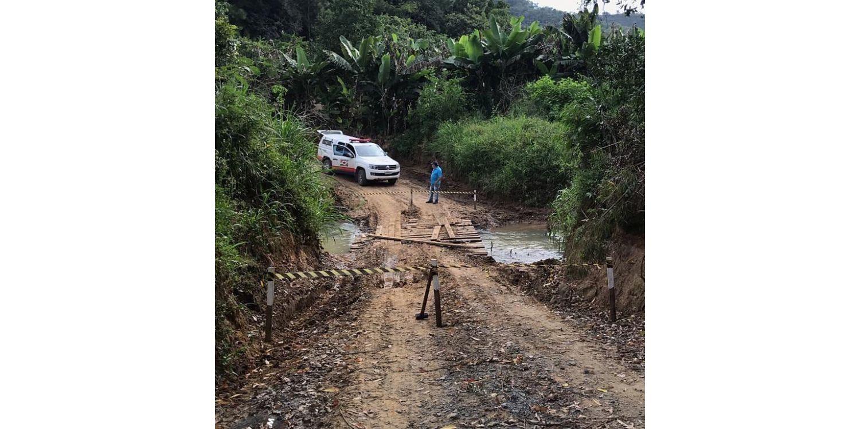 Nova ponte será construída na comunidade do Rio Batalha em Ituporanga