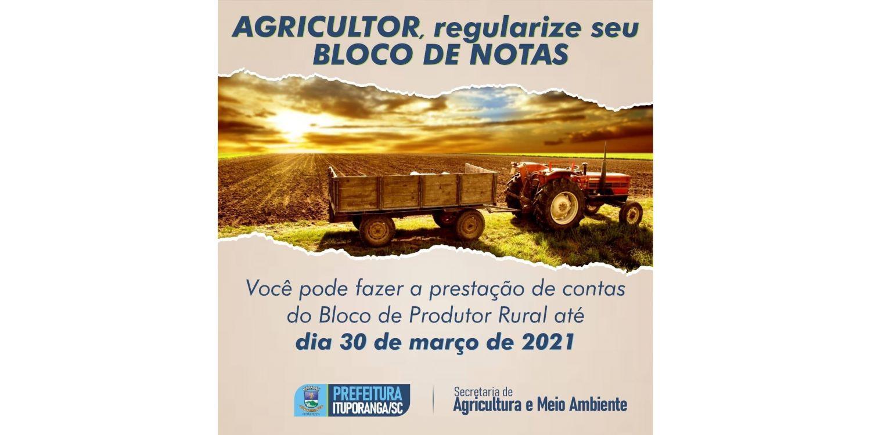 Pelo menos 372 agricultores ainda não prestaram conta das notas de produtor rural