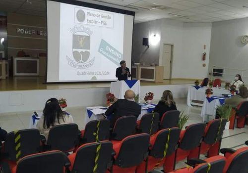Planos de Gestão Escolar da Rede Municipal de Ensino passam por avaliação e são aprovados