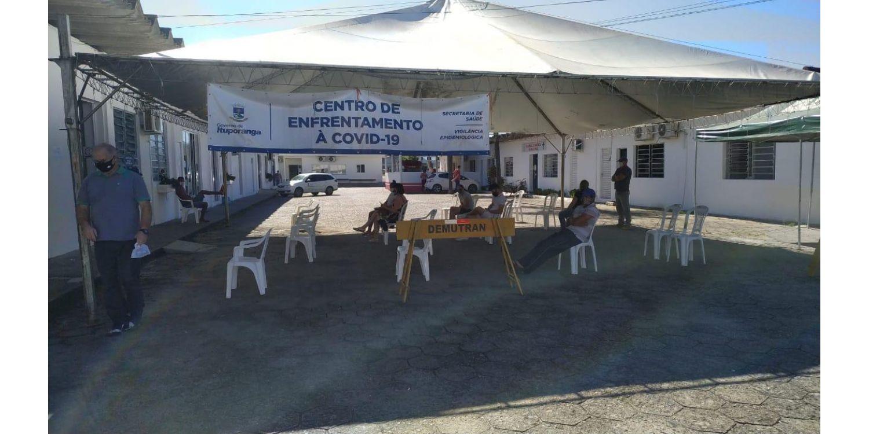 Procura por testes na tenda Covid aumenta em 100% em Ituporanga