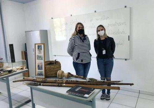 Projeto Museu Itinerante leva objetos históricos ao encontro dos alunos de Ituporanga