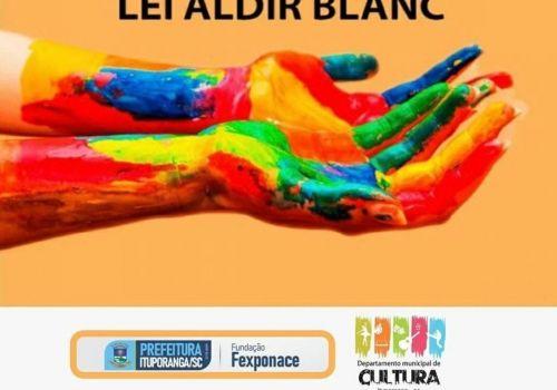 Publicada lista final com artistas beneficiados  pela lei Aldir Blanc em Ituporanga