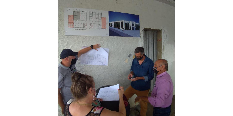Retomadas obras para construção do Anexo 1 da Prefeitura de Ituporanga