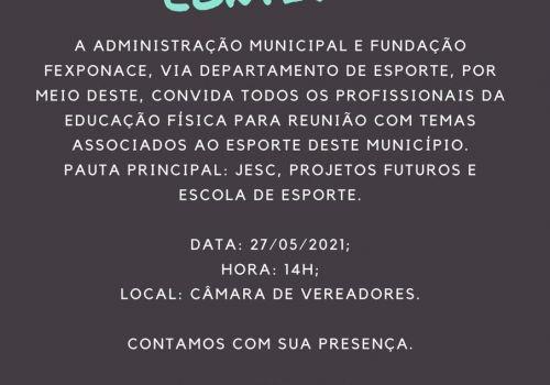 Reunião vai tratar sobre ações previstas para o esporte em Ituporanga
