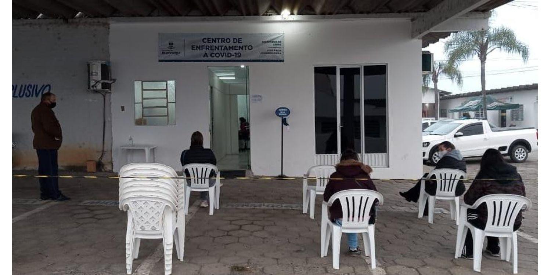 Secretaria de Saúde desativa tenda e altera local  do Centro de Atendimento Covid