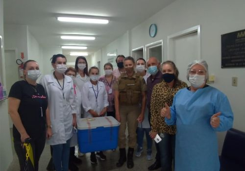 Uma dose de esperança: Ituporanga inicia a imunização contra a COVID